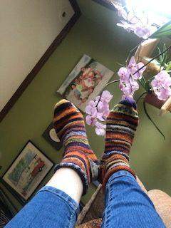 Toe Up Short Socks 34
