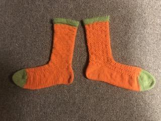Pumpkin Socks 1